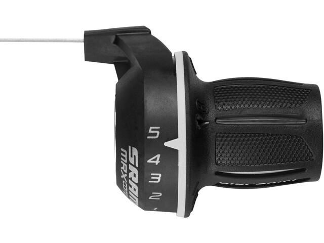 SRAM MRX Comp Drehgriff Griffschalter 5-fach hinten/rechts schwarz